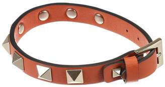 Valentino Jewel Rockstud Bracelet With Metal Studs