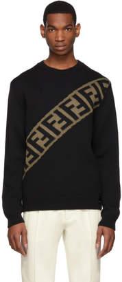 Fendi Black Forever Sweater