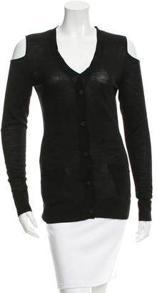 Vera Wang Wool Cutout Cardigan $75 thestylecure.com