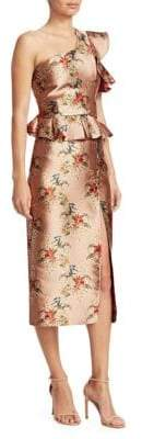 Johanna Ortiz La Divinidad One-Shouldered Dress