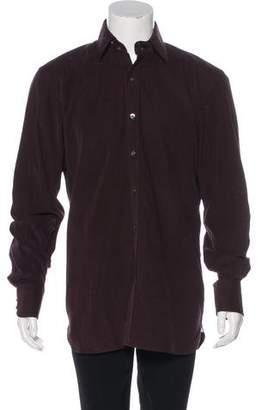 Tom Ford Corduroy Dress Shirt