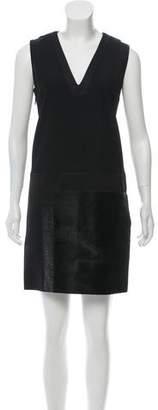 Victoria Beckham Victoria V-Neck Mini Dress