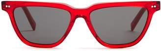 Celine Rectangular acetate sunglasses