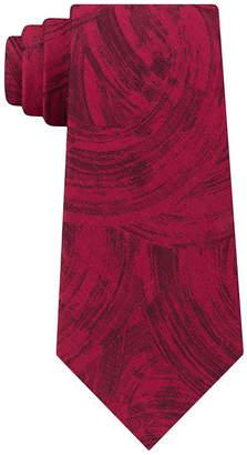 Van Heusen Narrow Chrome Abstract Tie