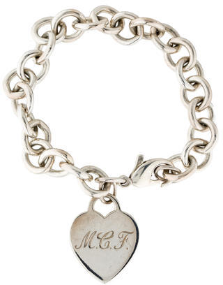 Tiffany & Co. Heart Tag Bracelet $125 thestylecure.com