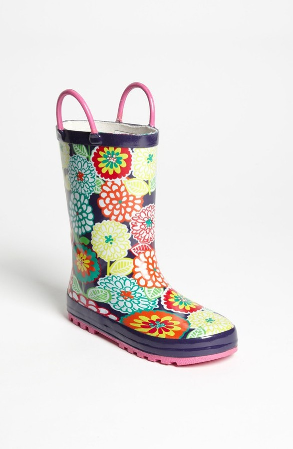 Western Chief 'May Gardens' Rain Boot (Toddler & Little Kid)