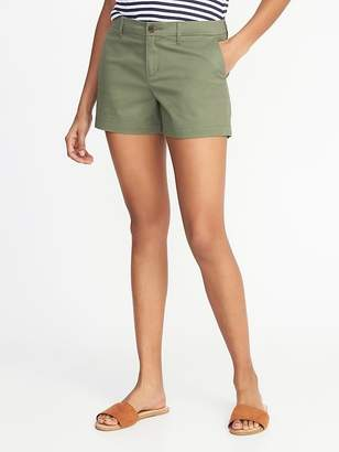 Old Navy Relaxed Mid-Rise Everyday Shorts For Women - 3.5 inch inseam