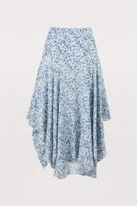 Stella McCartney Stella Mc Cartney Silk midi skirt