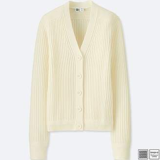 Uniqlo Women's U Merino-blend V-Neck Cardigan