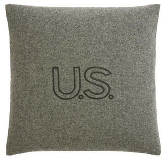Faribault Woolen Mill US Foot Soldier Wool Pillow Cover