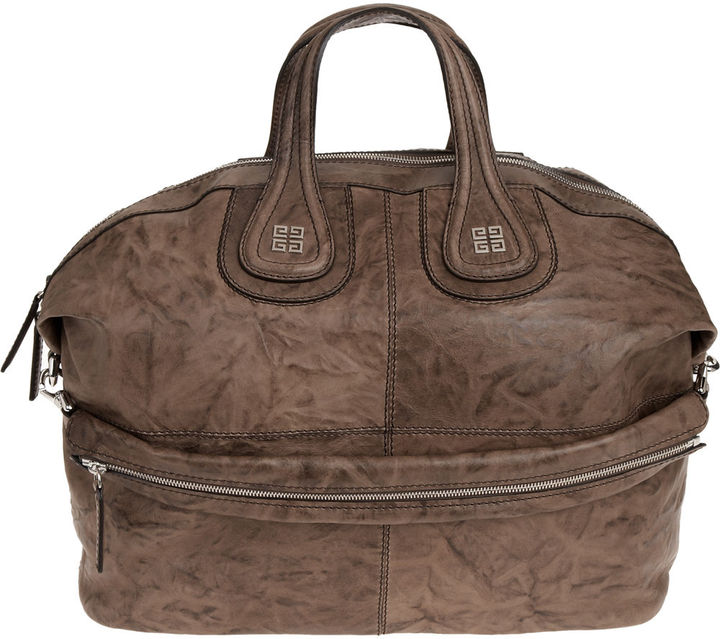 Givenchy Large Wrinkled Nigtingale - Brown