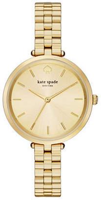 Kate Spade Holland Goldtone Bracelet Watch