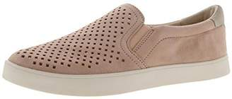 Dr. Scholl's Womens Scout Suede Slip On Fashion Sneakers Pink 7 Medium (B,M)