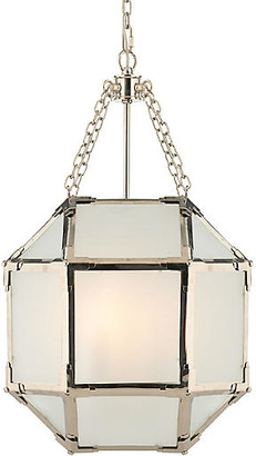 Visual Comfort & Co. Morris Lantern - Nickel/Frosted