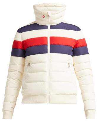 Perfect Moment - Queenie Down Filled Ski Jacket - Womens - White Multi