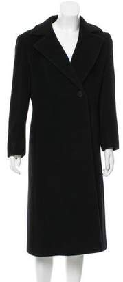 Cinzia Rocca Wool Notch-Lapel Coat