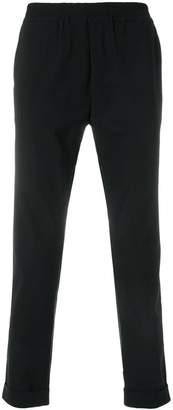 Hydrogen elasticated waist trousers