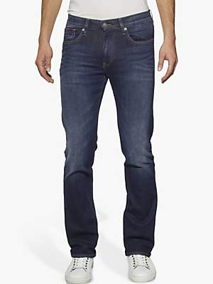 at John Lewis and Partners · Tommy Hilfiger Tommy Jeans Ryan Original  Straight Jeans, Dark Comfort 2d2be84a50