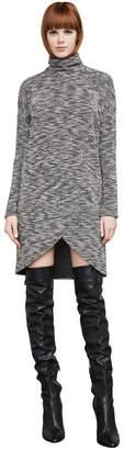 BCBGMAXAZRIA Talley Boucle Turtleneck Dress