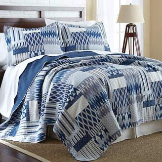 PACIFIC COAST TEXTILES Pacific Coast Textiles Aubrey Reversible Quilt Set