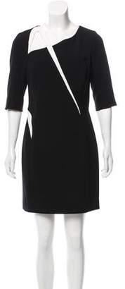Thierry Mugler Asymmetrical Cutout Dress