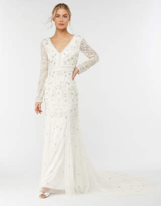 fc1fe8a1f1d Monsoon Elizabeth Embellished Wedding Dress