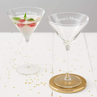 Becky Broome Personalised Martini Glass