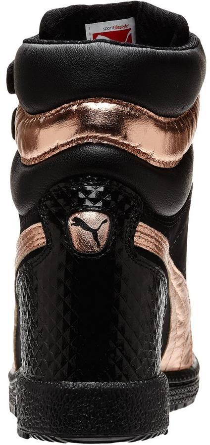 Puma Sky Wedge Rose Gold Women's Sneakers