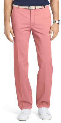 Izod Straight Fit Flat Front Pants
