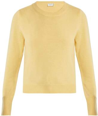 Frame Round-neck wool-blend sweater