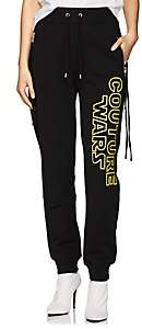 """Moschino Women's """"Couture Wars"""" Cotton Jogger Pants - Black"""