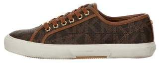 MICHAEL Michael Kors Leather Low-Top Sneakers