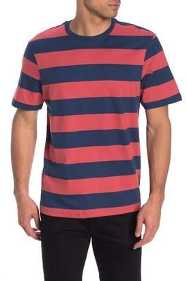 Joe Fresh Sport Stripe Crew Neck T-Shirt