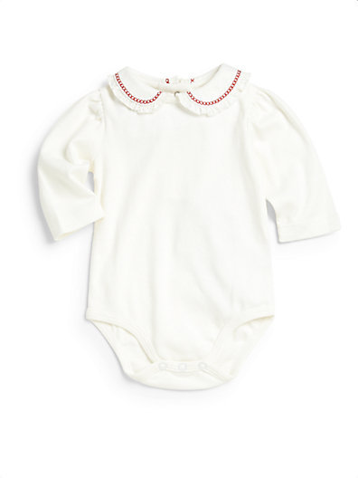 Hartstrings Infant's Embroidered Collar Bodysuit