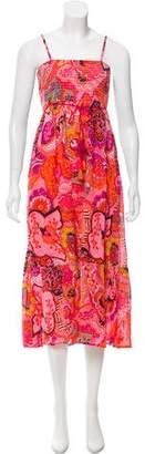 Banjanan Printed Sleeveless Maxi Dress w/ Tags