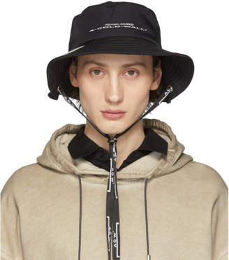 A-Cold-Wall* A Cold Wall* SSENSE Exclusive Black Logo Hat