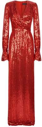 Jenny Packham Niari Sequin Gown
