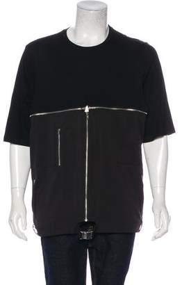 Hood by Air Zip-Accented T-Shirt