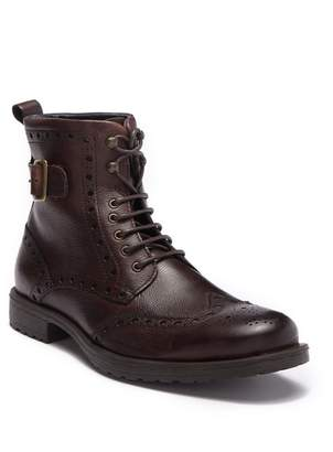 Rush by Gordon Rush Argyle Wingtip Lace-Up Boot