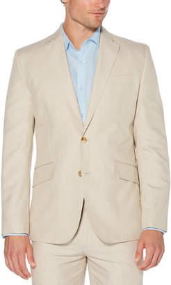 Cubavera Cotton Linen Herringbone Blazer