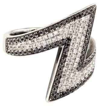 As 29 AS29 18K Diamond Arrow Pinky Ring
