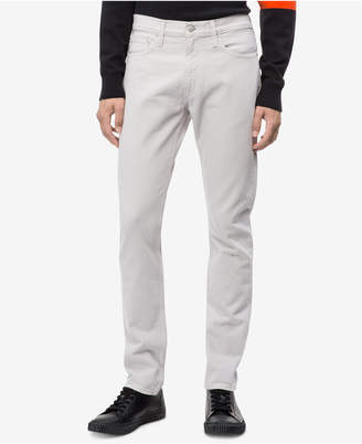 Calvin Klein Jeans Men's Slim-Fit Wellington Grey Jeans, Ckj 026