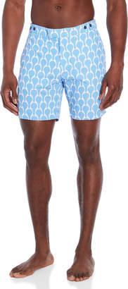 Trunks Frescobol Carioca Blue Tailored Logn Colette