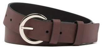 Calvin Klein Faux Leather D-Ring Loop Belt