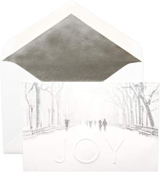 Dempsey & Carroll Winter White Joy with Central Park Cards