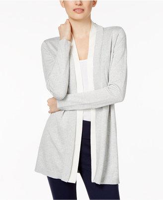 Calvin Klein Open-Front Cardigan $89.50 thestylecure.com