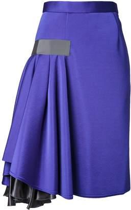 Kolor ruffle detail skirt