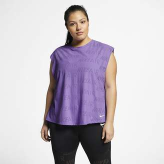 Nike Women's Short-Sleeve Running Top (Plus Size