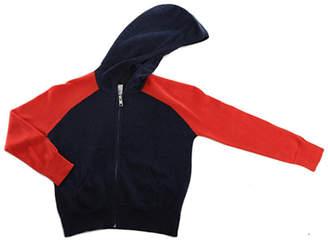 Blue & Cream Blue&Cream Kids Cashmere Zip Hoody