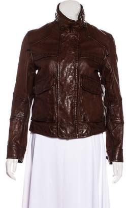 Ralph Lauren Casual Leather Jacket